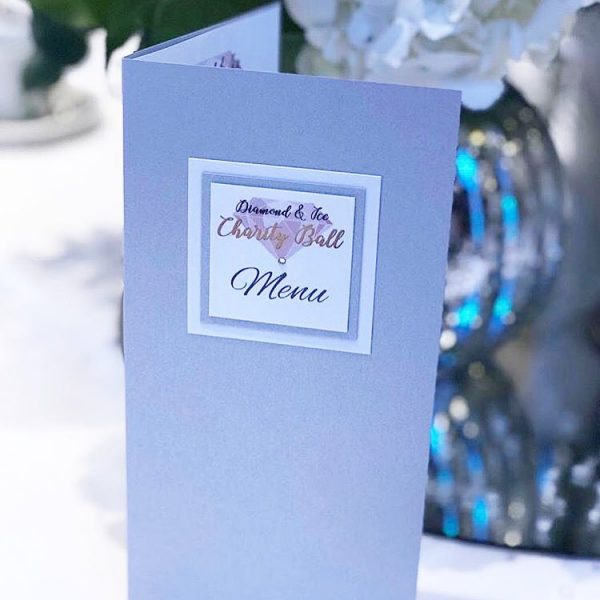 Event Stationery for The Diamond & Ice Charity Ball | Emma Farwell