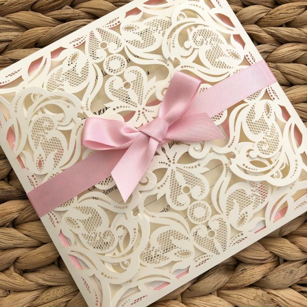 Laser Cut Wedding Invitations Bournemouth