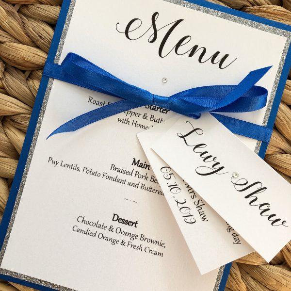 Glitter Wedding Invitations